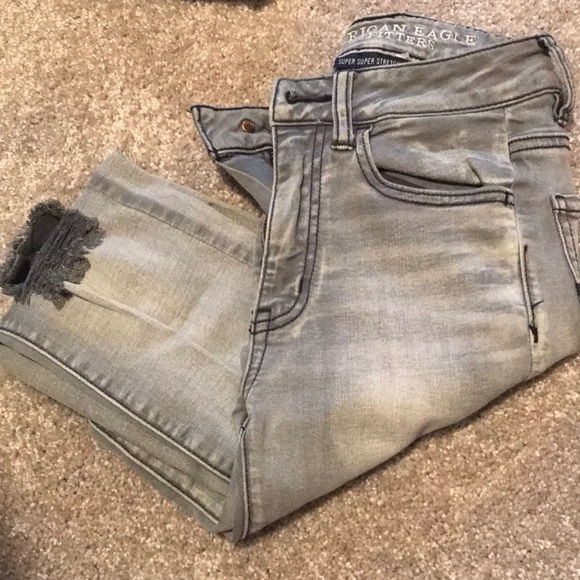 American Eagle Outfitters Denim - American Eagle distressed jeans